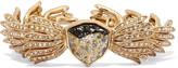 Oscar de la Renta Wisteria gold-tone crystal bracelet