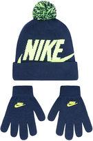 Haddad Nike Hat & Glove Set - Boys