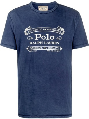 Polo Ralph Lauren logo print short-sleeve T-shirt
