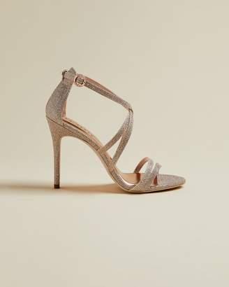 Ted Baker Lurex Strappy Sandals