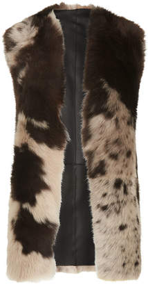 Whistles Helvin Cow Shearling Gilet