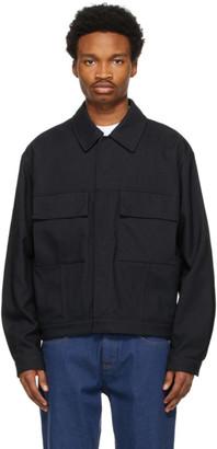 ermenegildo zegna couture Black Recycled Nylon Jacket