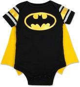 DC Comics Baby Boys' Batman Onesie with Cape (3-6 M)