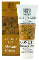 Geo F. Trumper Coconut Oil Soft Shaving Cream by 75g Cream)