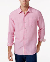 Tommy Bahama Men's Linen Sandy Check Shirt