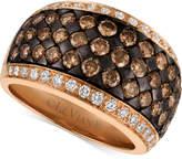 LeVian Le Vian Chocolatier® Diamond Band (2-3/8 ct. t.w.) in 14k Rose Gold