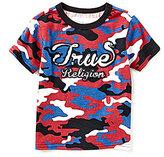 True Religion Little Boys 2T-7 Camouflage-Print Short-Sleeve Tee