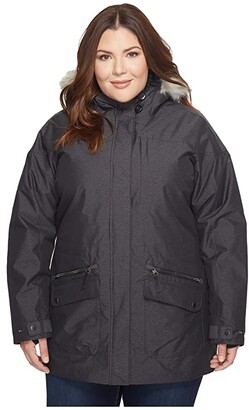 Columbia Plus Size Carson Pass IC Jacket (Black) Women's Coat