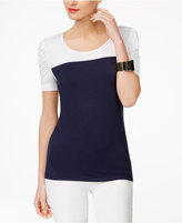 INC International Concepts Colorblocked Top, Only at Macy's