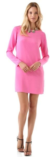 Tibi Solid Shift Dress
