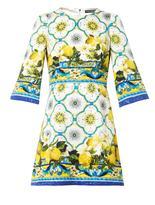 kelly ripa  Who made Kelly Ripas yellow lemon print dress?