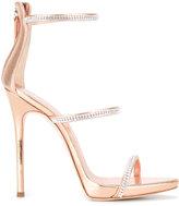 Giuseppe Zanotti Design Harmony Sparkle sandals - women - Leather - 38.5