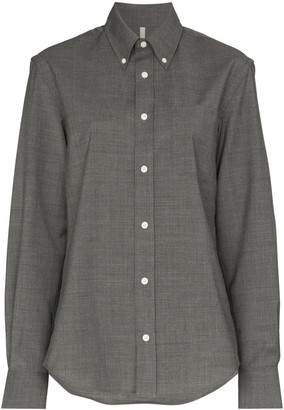 Button-Down Tailored Shirt