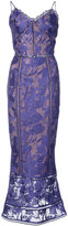 Marchesa Notte - embroidered dress