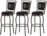 JCPenney Trenton Set of 3 Adjustable Swivel Barstools