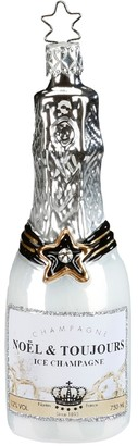 Inges Decor Ice Champagne Ornament