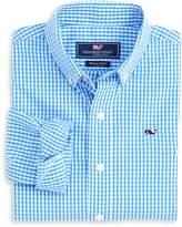 Vineyard Vines Boys' Gingham Button-Down Shirt