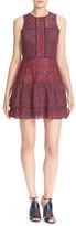 Parker Tiered Lace Skater Dress