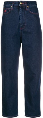 Philosophy di Lorenzo Serafini Cropped Denim Jeans