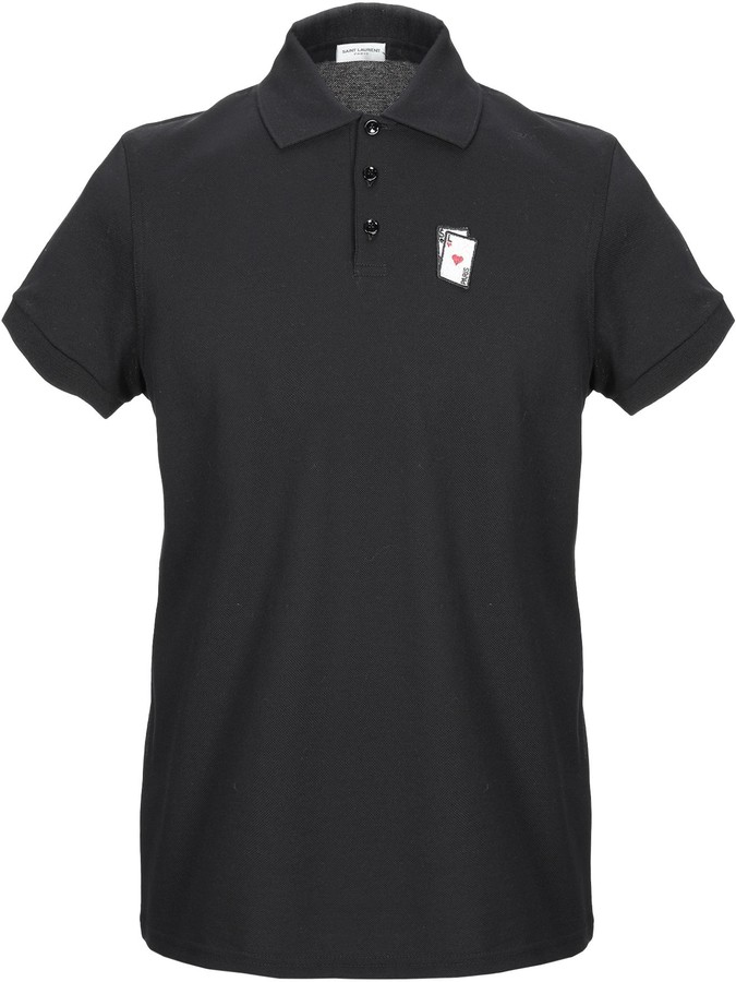 52c389c341a Saint Laurent Men's Polos - ShopStyle