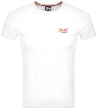 Superdry Short Sleeved T Shirt White