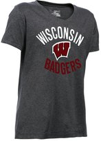 Under Armour Girls' Wisconsin UA TechTM T-Shirt