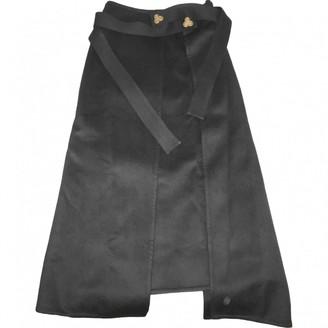 Loewe Black Wool Skirt for Women