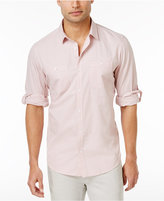 INC International Concepts Men's Work Striped Shirt, Created for Macy's