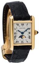 Cartier Tank Calendar Moon Phase Watch