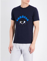 Kenzo Eye-motif cotton-jersey t-shirt