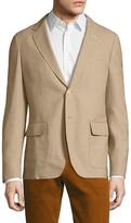 Gant Chamotte Wool Notch Lapel Sportcoat