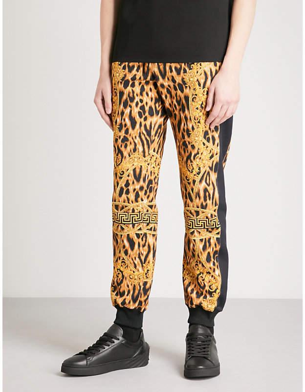 Versace Lamyland cotton-jersey jogging bottoms
