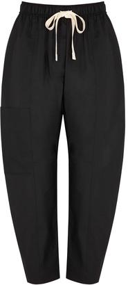 Lee Mathews Workroom Black Poplin Trousers