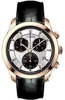 Dreyfuss & Co Dreyfuss Mens Quartz Watch, Chronograph Display and Leather Strap DGS00063/06