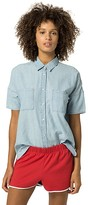Tommy Hilfiger Short-Sleeve Chambray Shirt