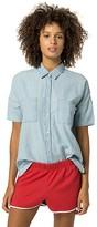 Tommy Hilfiger Short-Sleeve Chambray Shirt