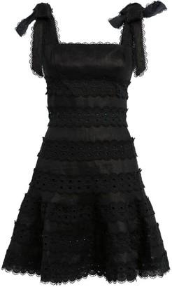 Zimmermann Kirra Embroidered Mini Dress