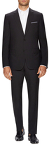 Christian Dior Wool Solid Notch Lapel Suit