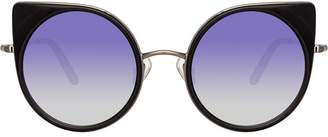 Linda Farrow x Matthew Williamson tinted sunglasses