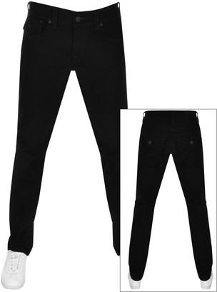 True Religion Ricky Flap Jeans Black