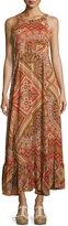 Raga Copper Creek Printed Maxi Dress, Rust