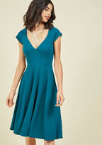 Name the Date A-Line Dress in Teal in S
