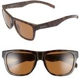 Smith Optics Women's 'Lowdown Slim' 53Mm Sunglasses - Black/ Polarized Grey Green