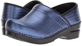 Sanita Signature Professional Cairo (Blue) Women's Clog Shoes