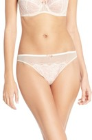 B.Tempt'd Women's 'B.sultry' Lace Front Thong