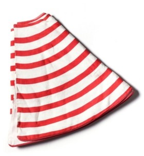 Coton Colors by Laura Johnson Stripe Tree Skirt