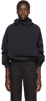 Markoo SSENSE Exclusive Black Big Neck Turtleneck
