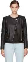 Etoile Isabel Marant Black Leather Biker Jacket