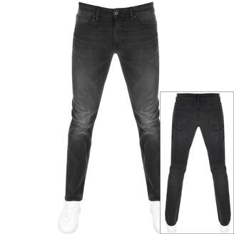 BOSS Casual Delaware Slim Fit Jeans Grey