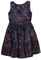 Frais Toddler Girl's Embroidered Floral Dress